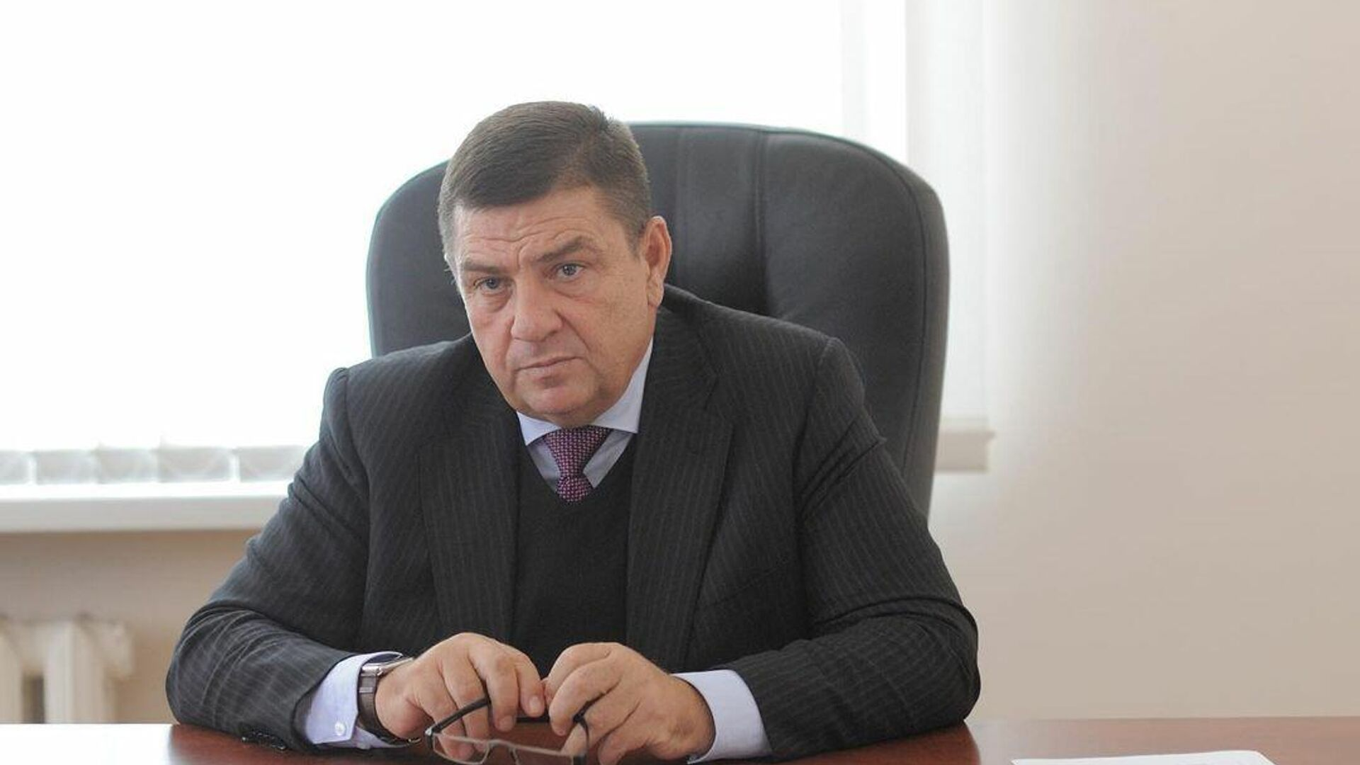 Глава муниципального образования город Майкоп Андрей Гетманов - РИА Новости, 1920, 25.03.2021