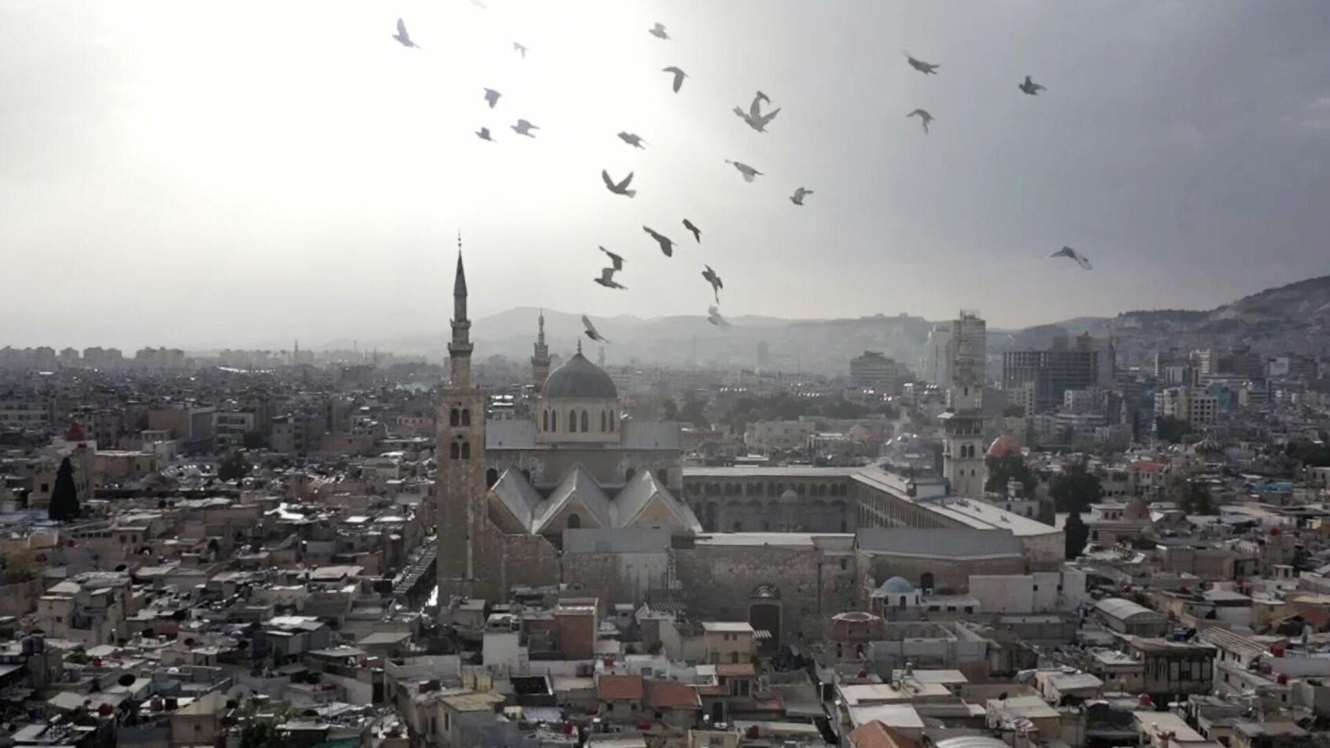 Мечеть Омейядов в Дамаске - РИА Новости, 1920, 21.04.2021