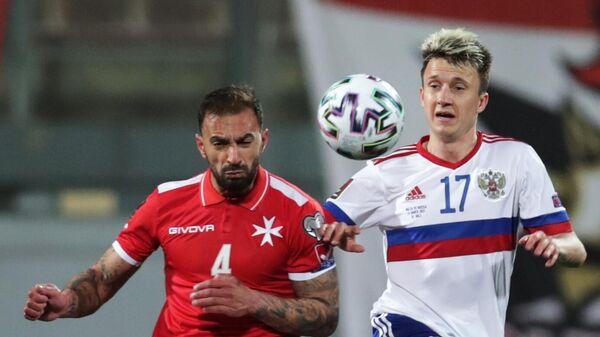 Футбол. Отборочный матч ЧМ-2022. Мальта – Россия