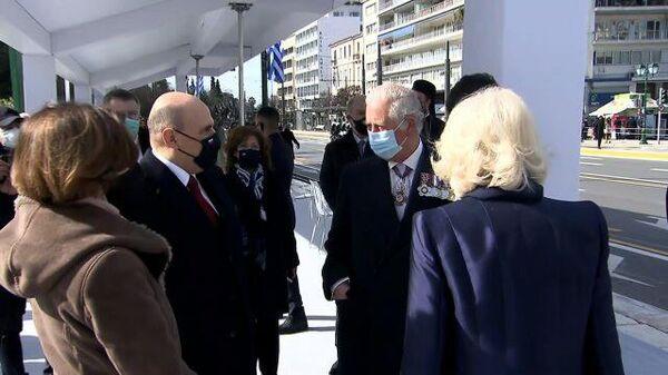 Встреча Мишустина и принца Чарльза в Афинах