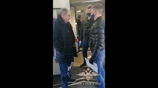 Экс-чиновник Мазо в сопровождении спецконвоя отправляется в Москву. Кадры МВД РФ