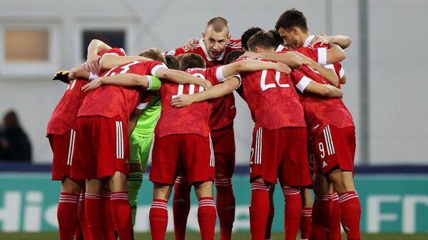Футбол. Молодежный ЧЕ-2021. Матч Россия - Исландия