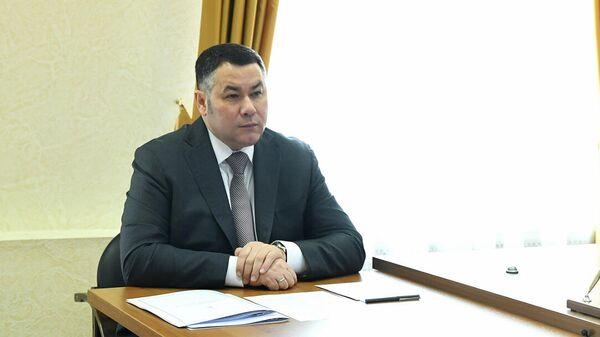 Губернатор Игорь Руденя проводит личный прием граждан в Правительстве Тверской области