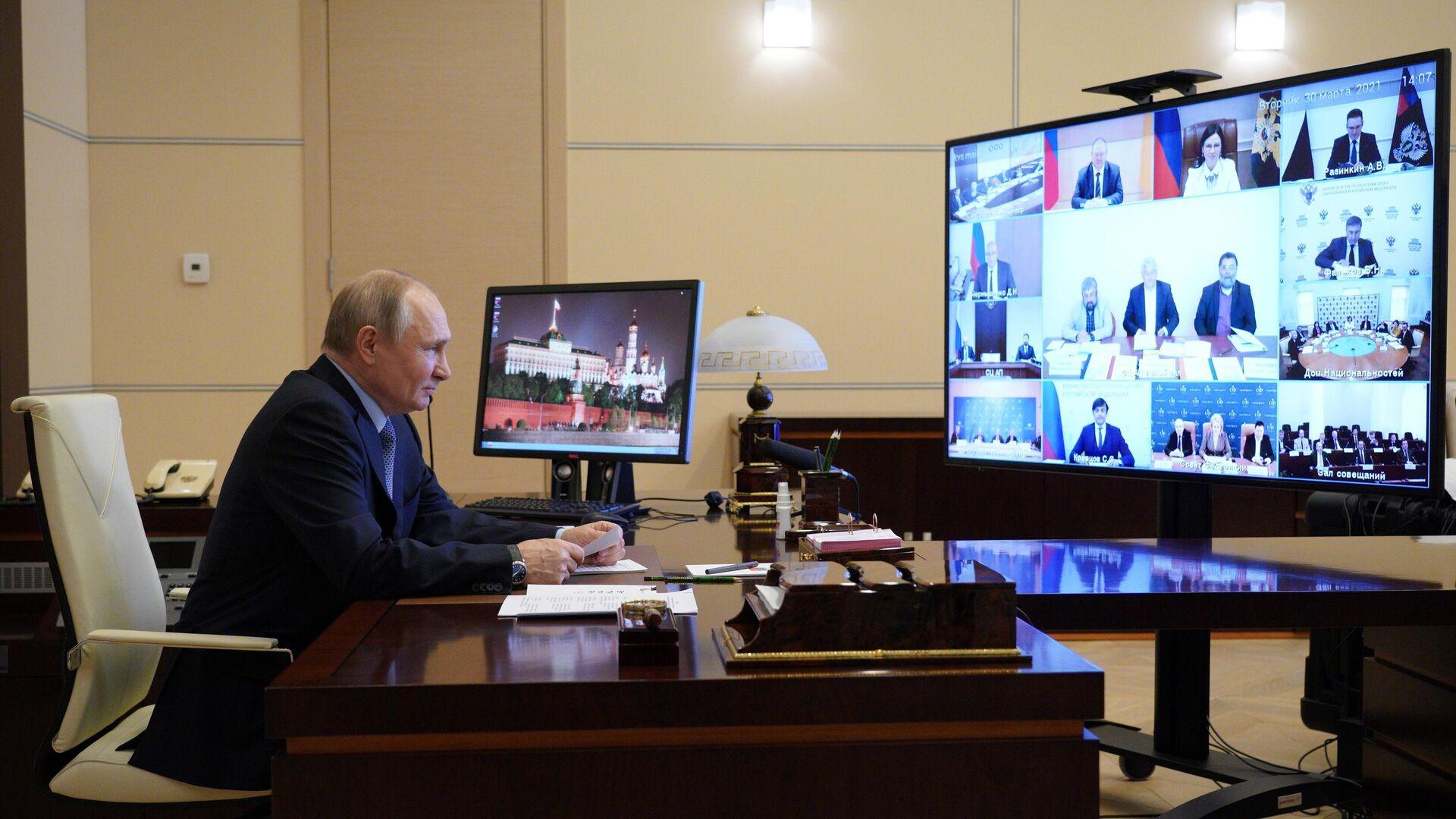 Путин поручил обобщить идеи с совета по межнациональным отношениям