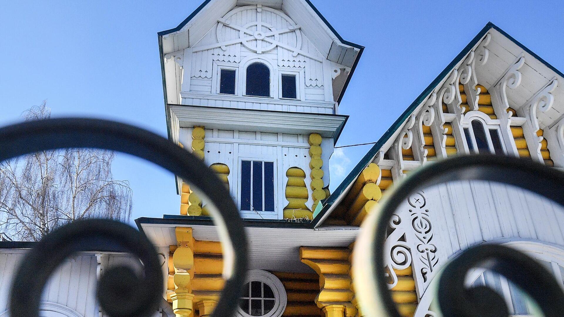 Дома в стиле модерн в Кимрах - РИА Новости, 1920, 20.04.2021