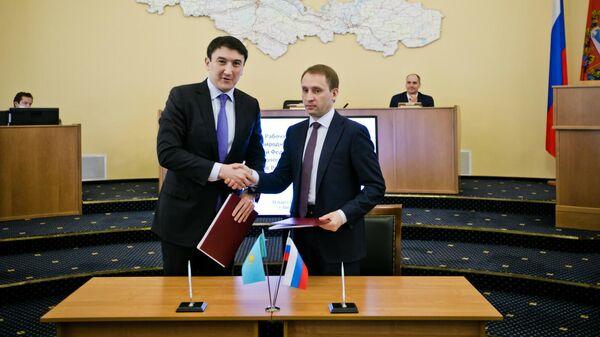 Министерства экологии России и Казахстана подписали в среду программу о сохранении и восстановлении экосистем трансграничных рек Урал и Иртыш