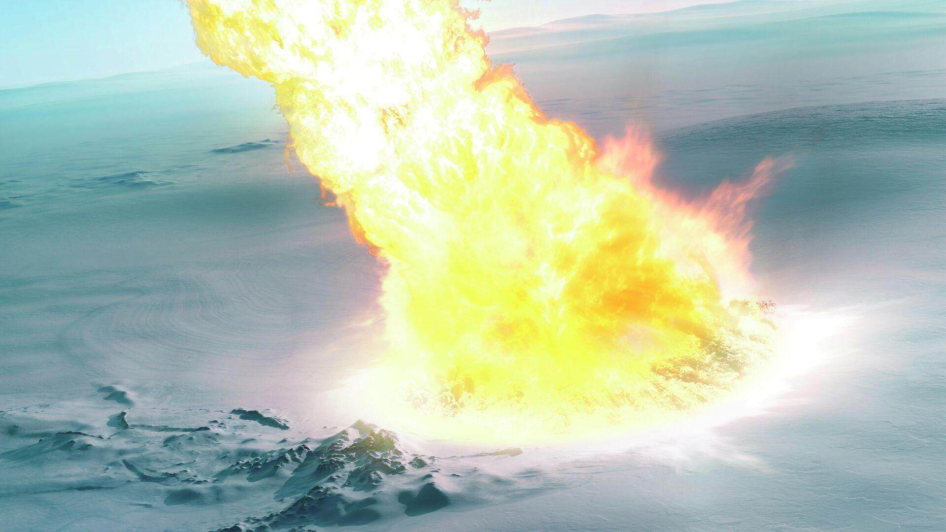 В Антарктиде найдены свидетельства падения крупного метеорита