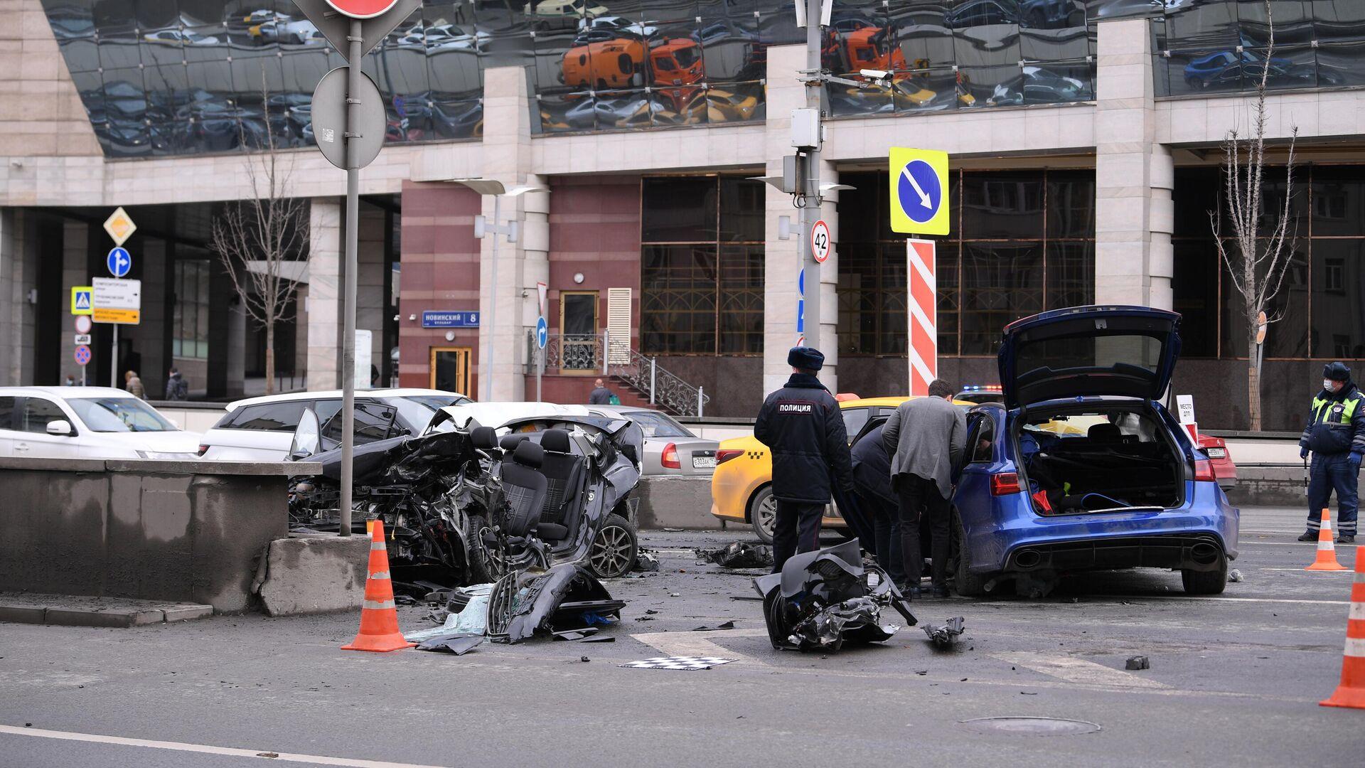Прокурор Москвы взял под контроль расследование ДТП на Садовом кольце
