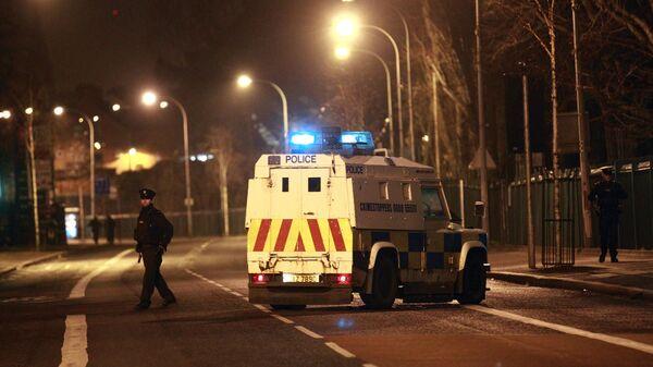 Сотрудники полиции в Белфасте