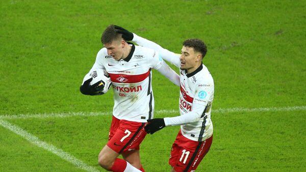Александр Соболев и Джордан Ларссон (слева направо)