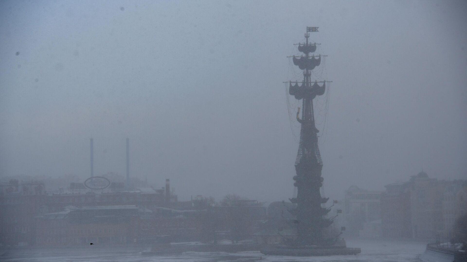 Памятник В ознаменование 300-летия российского флота в Москве - РИА Новости, 1920, 06.04.2021