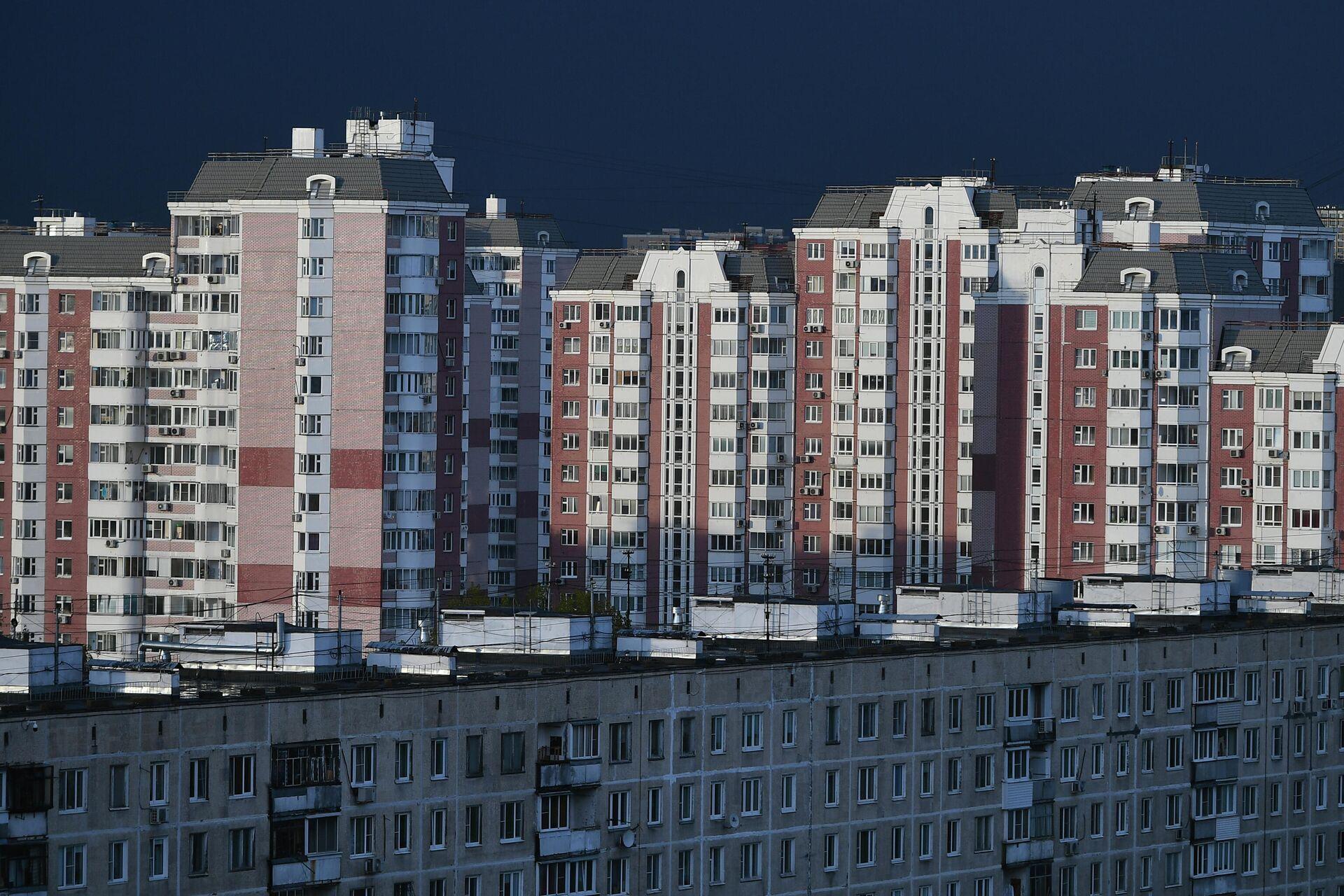 Жилые дома на Химкинском бульваре в Москве - РИА Новости, 1920, 05.04.2021