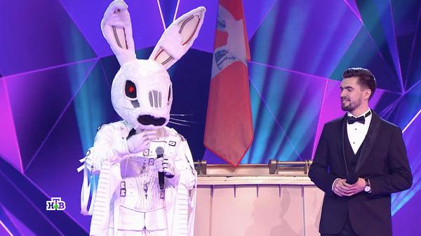 Персонаж Заяц в шоу Маска на телеканале НТВ