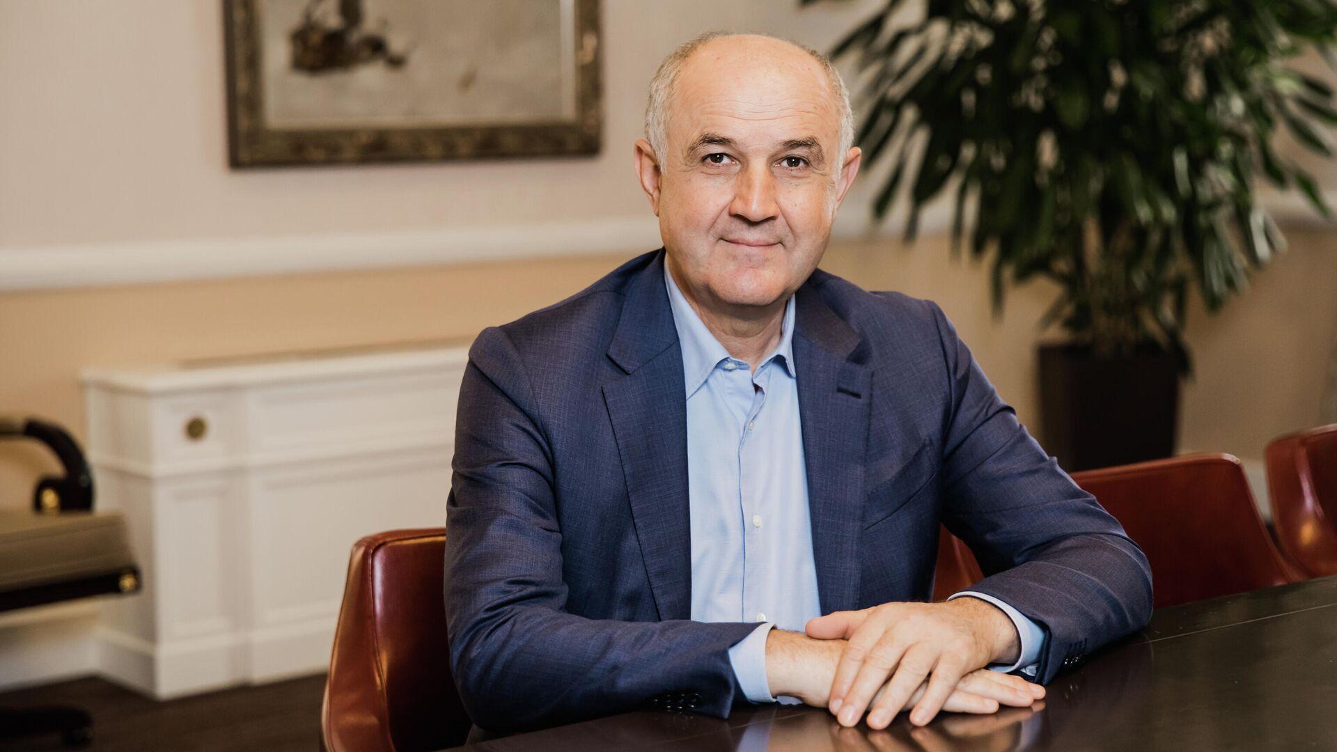 Управляющий партнер АФК Система, председатель совета директоров Segezha Group Али Узденов - РИА Новости, 1920, 06.04.2021
