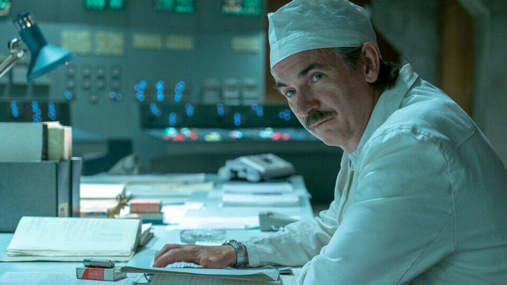 Пол Риттер в сериале Чернобыль - РИА Новости, 1920, 06.04.2021