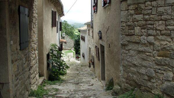 Город Хум в Хорватии