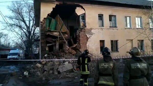 Рассказ очевидца об обрушении части жилого дома в Канске