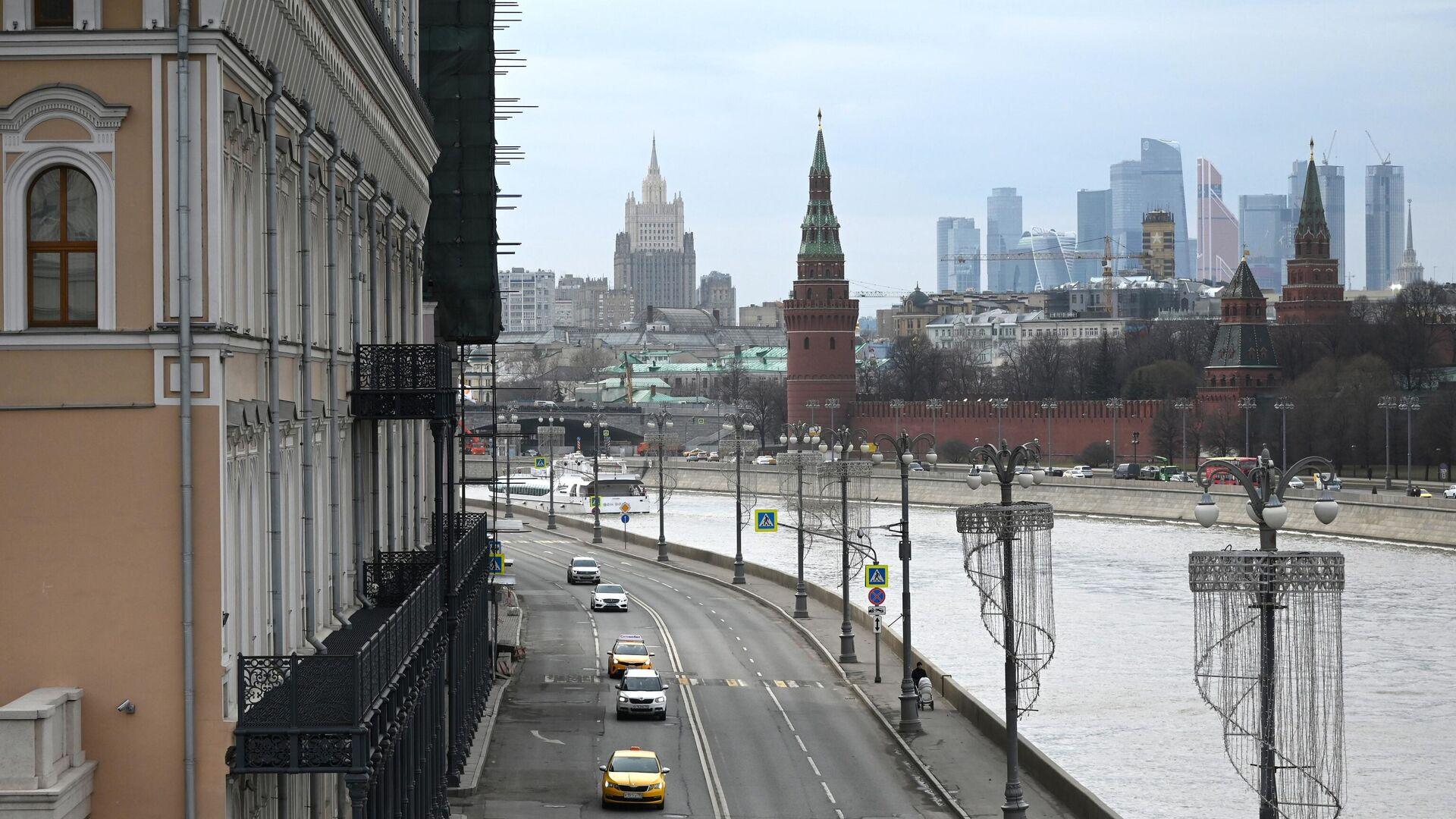 Софийская набережная в Москве - РИА Новости, 1920, 08.04.2021