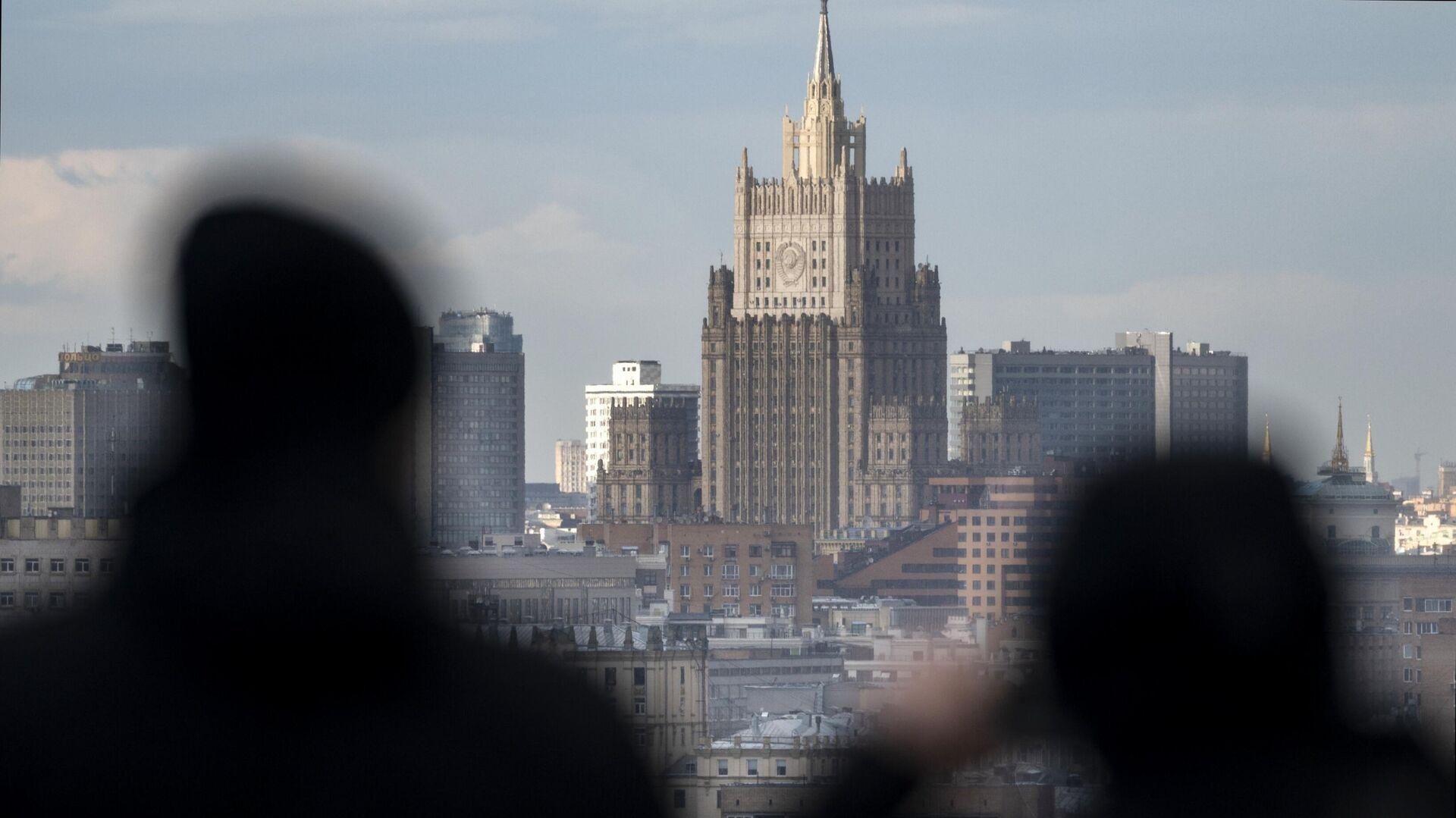 Здание МИД России в Москве - РИА Новости, 1920, 10.06.2021