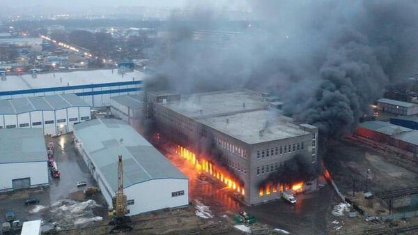 Пожар в Люберцах