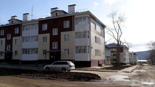 Жилые дома в городе Николаевск-на-Амуре