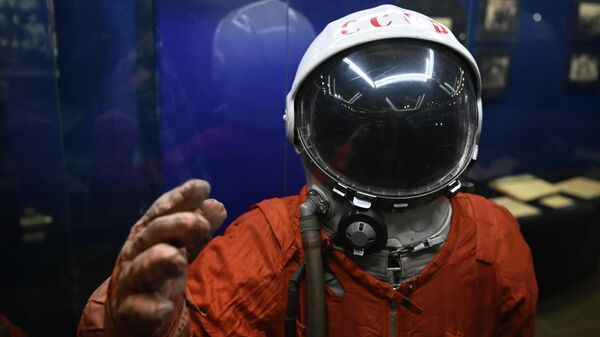 Скафандр СК-1 в музее Первого полёта в городе Гагарин