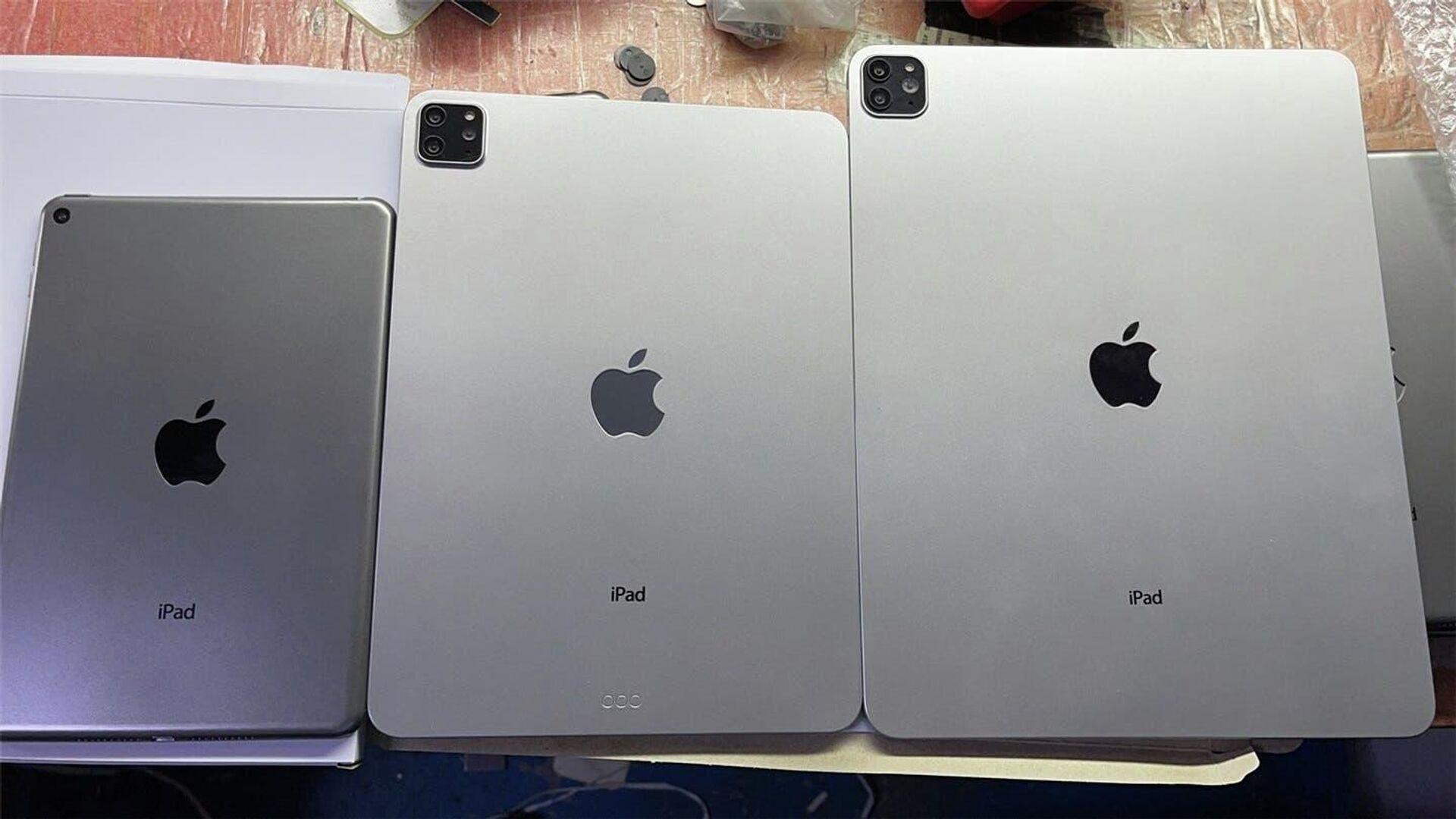 Новые планшеты iPad Pro и iPad mini 6 показали до премьеры