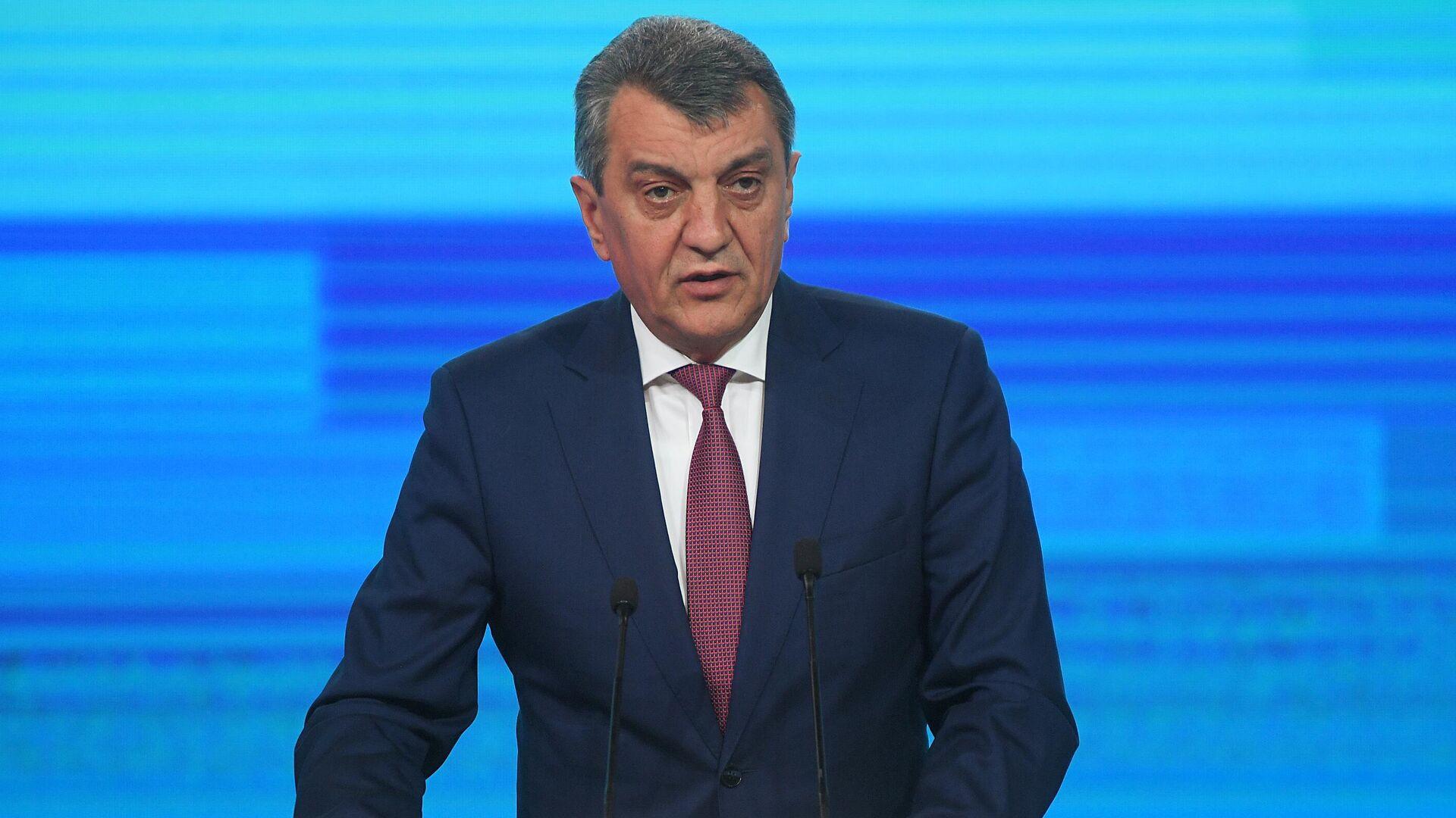 Меняйло попросил дать поручение о программе развития Северной Осетии