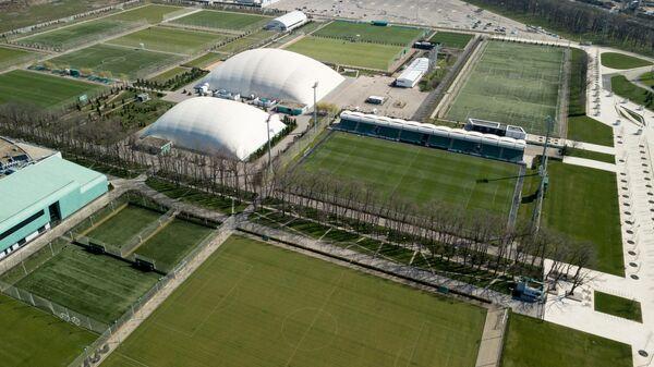 Тренировочные поля на базе футбольного клуба Краснодар