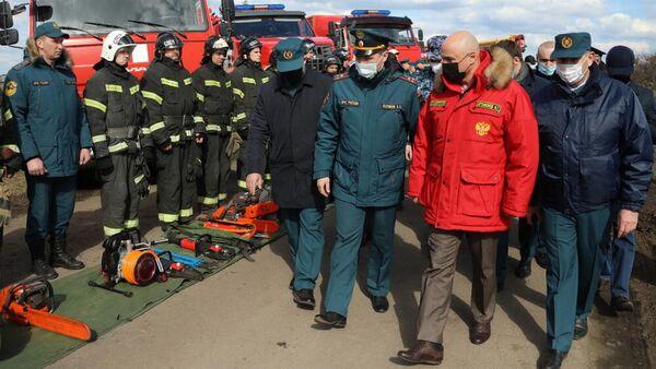 Игорь Артамонов принимает участие в масштабных командно-штабных учениях в Липецкой области