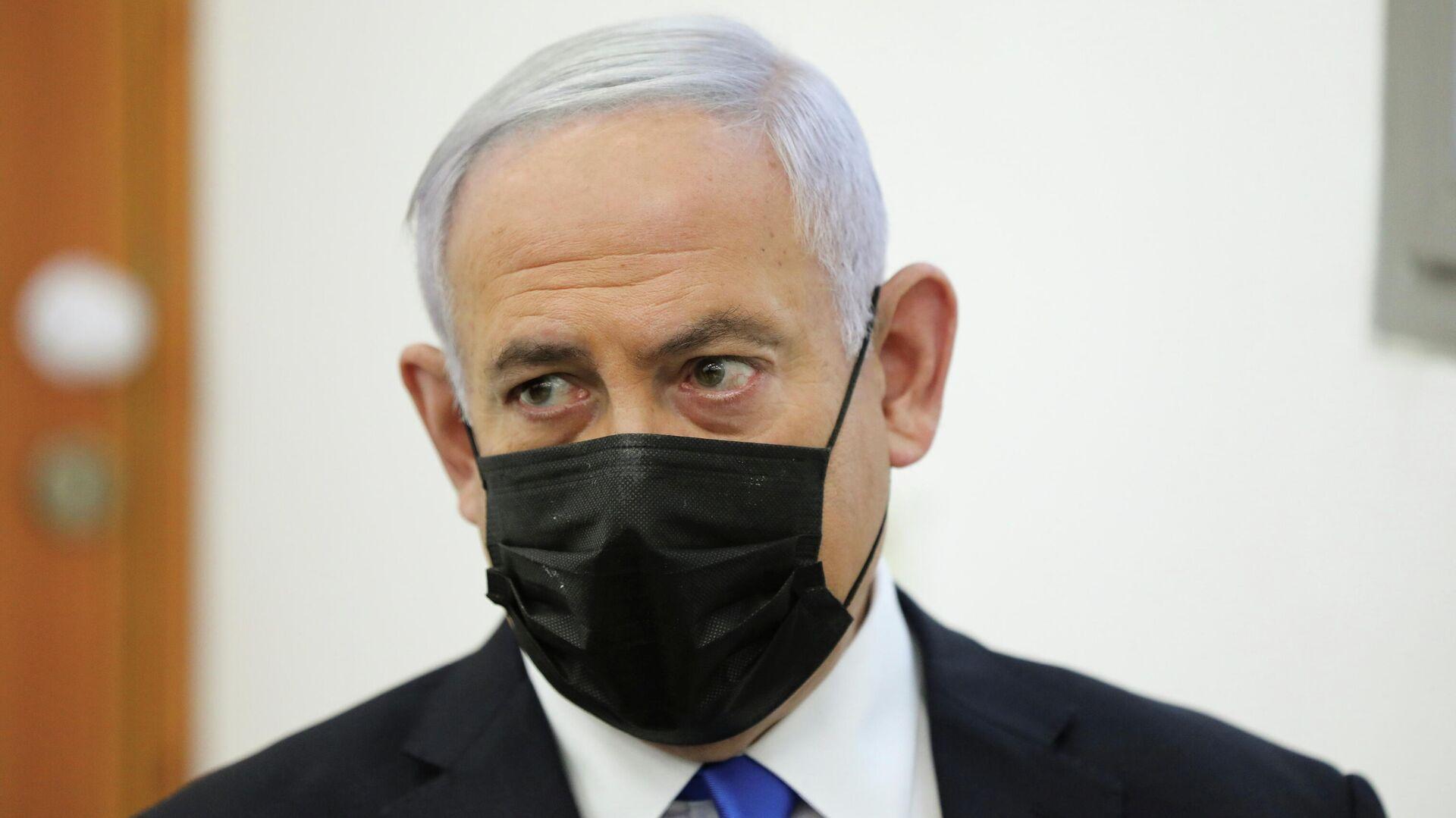 Премьер-министр Израиля Биньямин Нетаньяху - РИА Новости, 1920, 11.05.2021