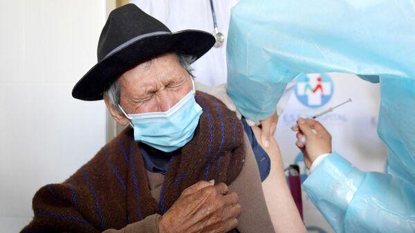 Вакцинация вакциной от коронавируса Sinovac в Колумбии