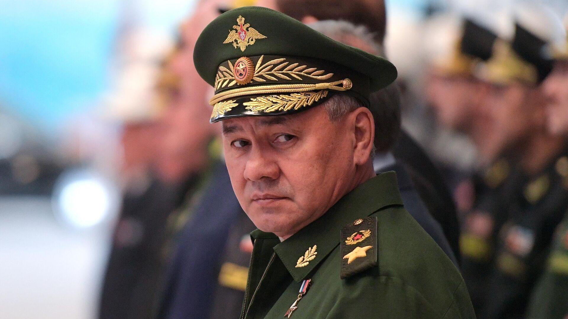 Министр обороны РФ Сергей Шойгу - РИА Новости, 1920, 22.04.2021