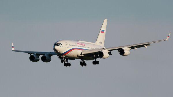 Самолет президента России Владимира Путина