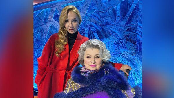 Татьяна Навка (слева) и Татьяна Тарасова