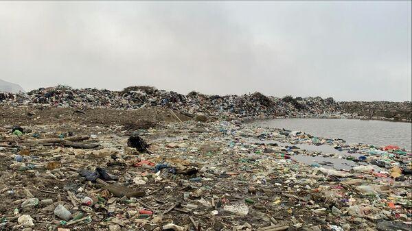 Несанкционированная свалка в селе Новый Параул