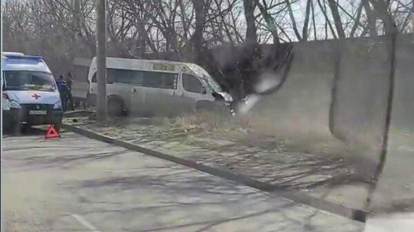 ДТП с маршруткой в Челябинске