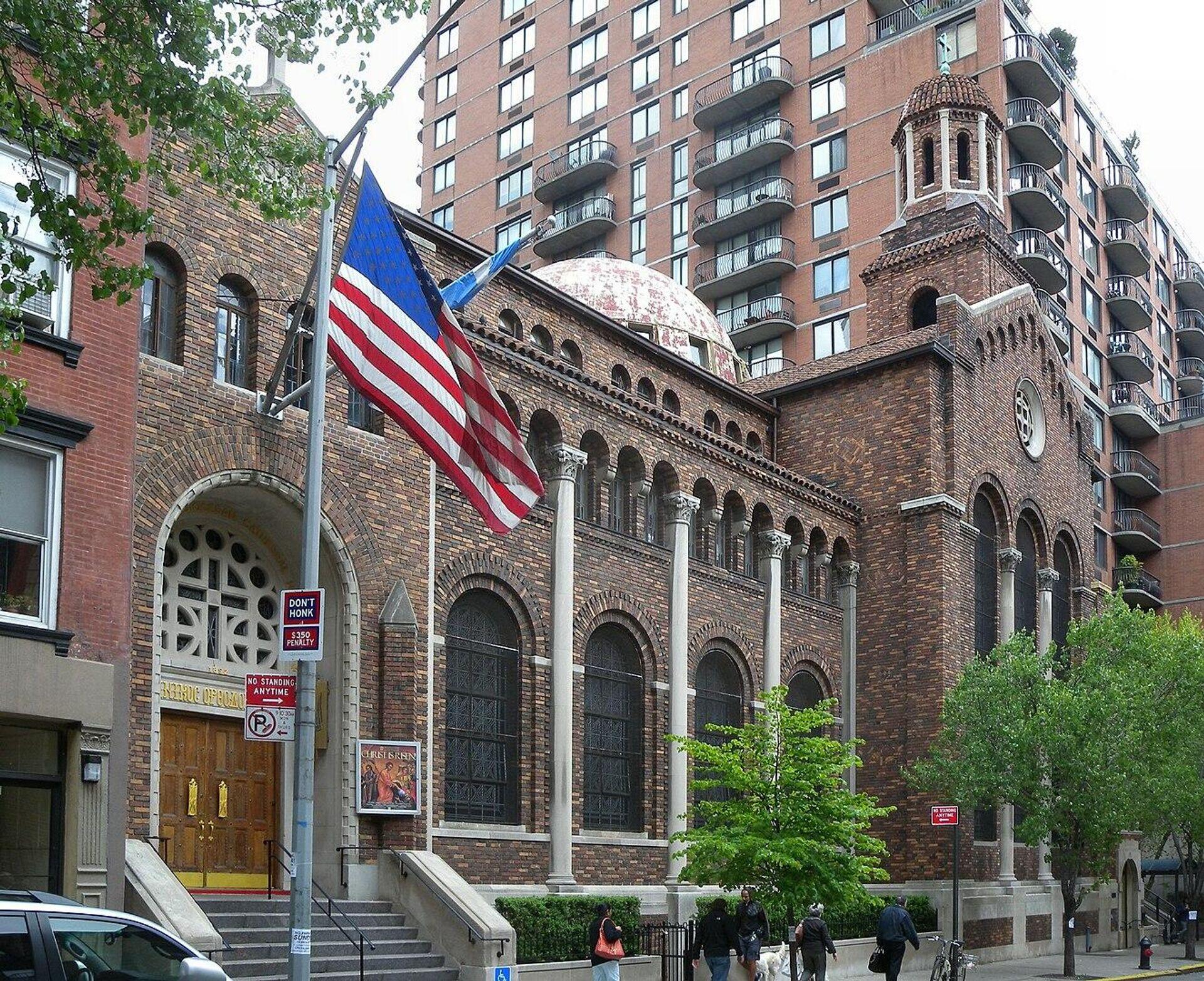 Троицкий собор в Нью-Йорке - РИА Новости, 1920, 13.04.2021