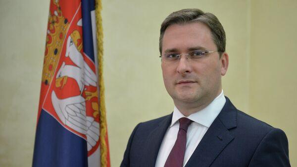 Министр иностранных дел Сербии Никола Селакович