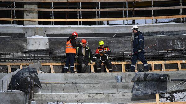 Строительство Ледовой арены в Екатеринбурге