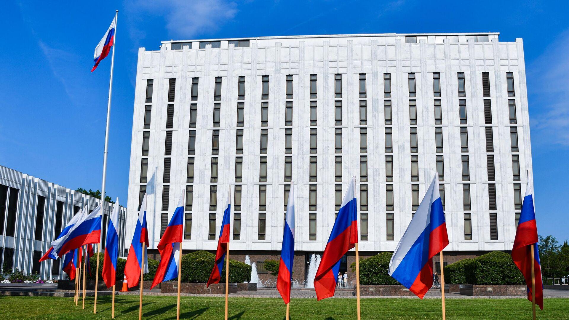 Здание посольства России в Вашингтоне - РИА Новости, 1920, 20.07.2021