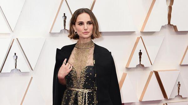 Актриса Натали Портман на церемонии вручения премии Оскар