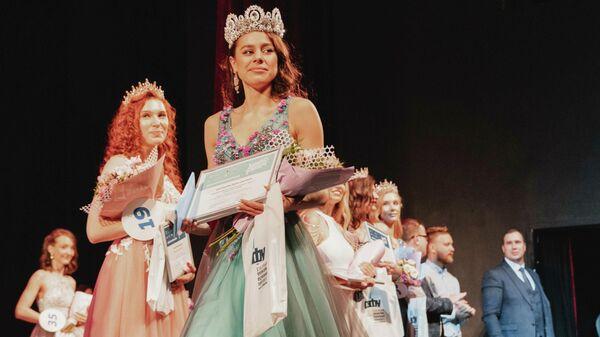 Победительница конкурса красоты и таланта Краса студенчества России Дарья Шаповалова