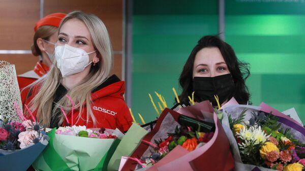 Виктория Синицина и Елизавета Туктамышева