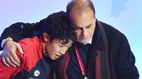 Натан Чен и Рафаэль Арутюнян (слева направо)