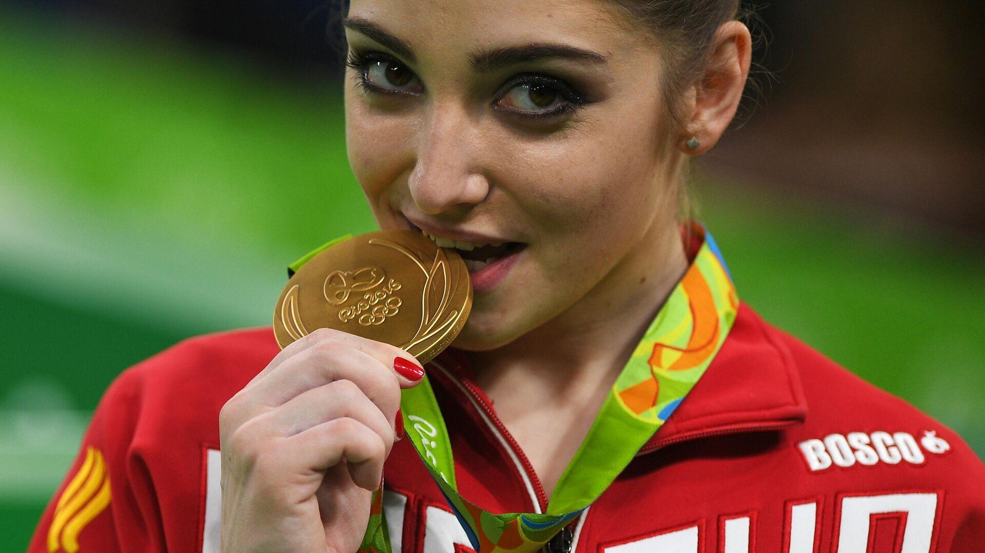 Олимпиада 2016. Спортивная гимнастика. Женщины. Разновысокие брусья - РИА Новости, 1920, 19.04.2021