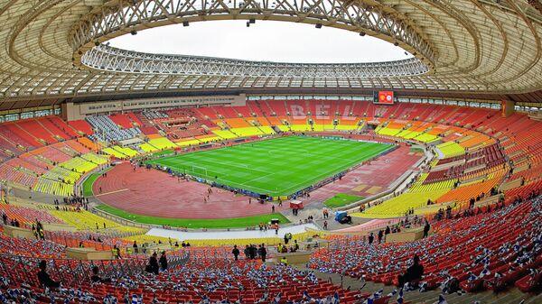Стадион Лужники готовится принять финал Лиги чемпионов