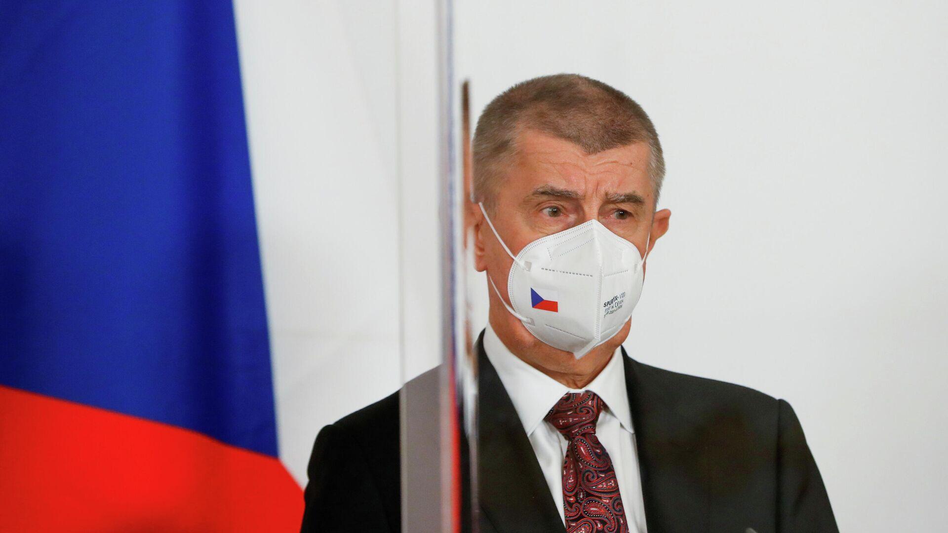 Премьер-министр Чехии Андрей Бабиш - РИА Новости, 1920, 08.05.2021