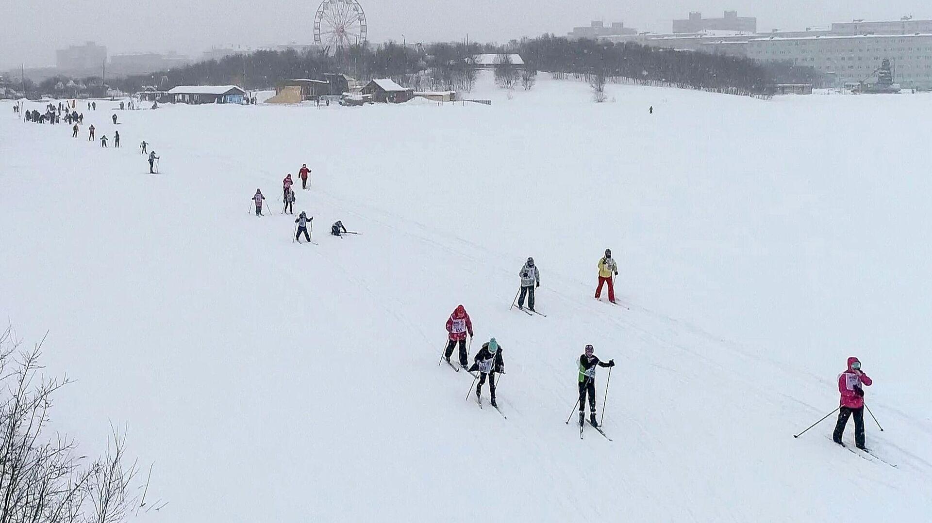 Лыжники - РИА Новости, 1920, 20.04.2021