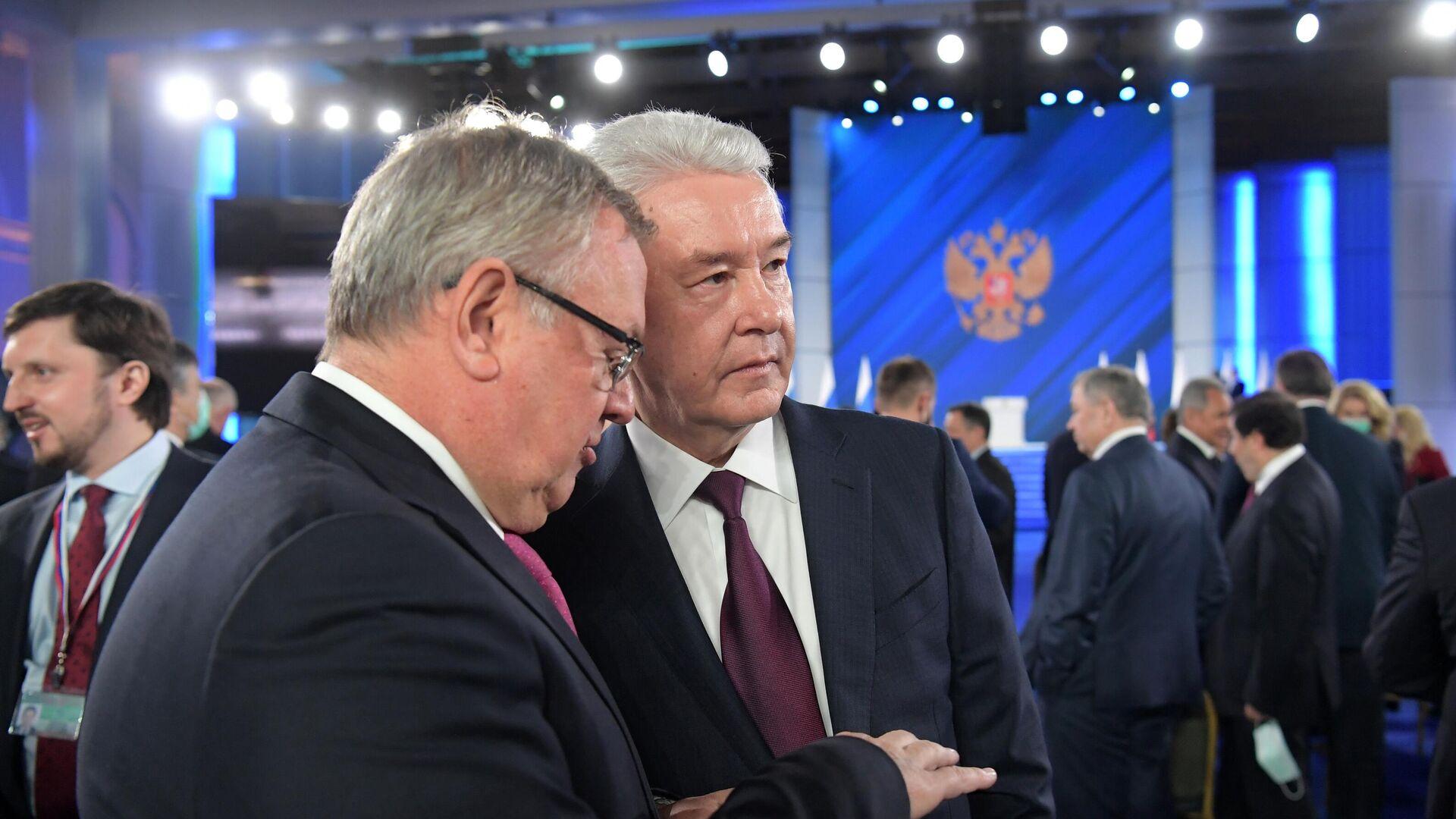 """Собянин отметил """"мощный сигнал"""" для властей в послании президента"""